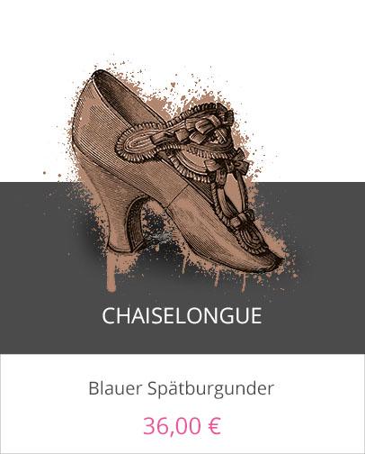 Chaiselongue Schuh